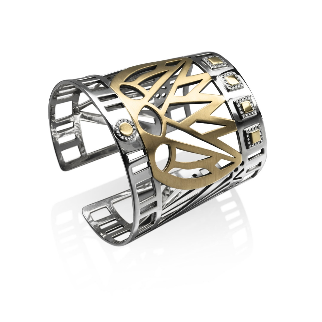 Lotus Cuff by Azza Fahmy