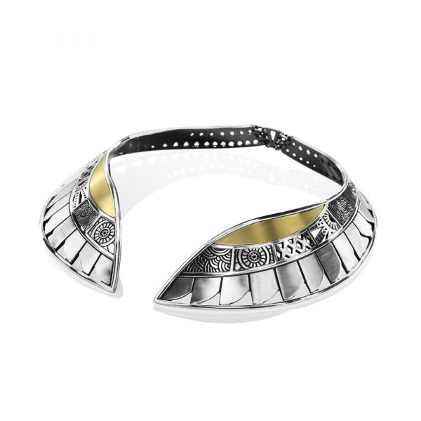 Wings Collar Necklace by Azza Fahmy