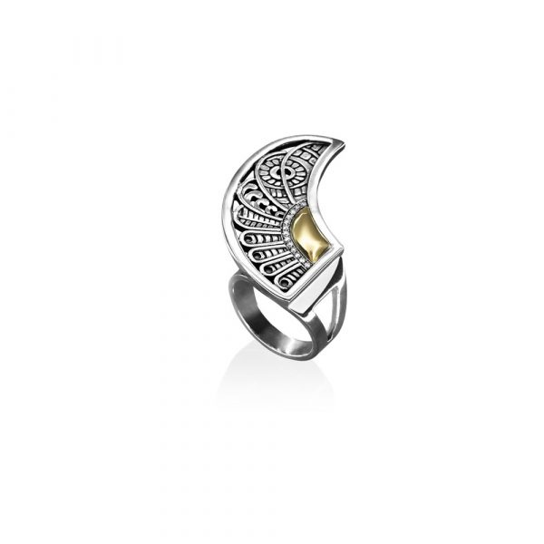 Cosmic Wing Ring (Right) by Azza Fahmy