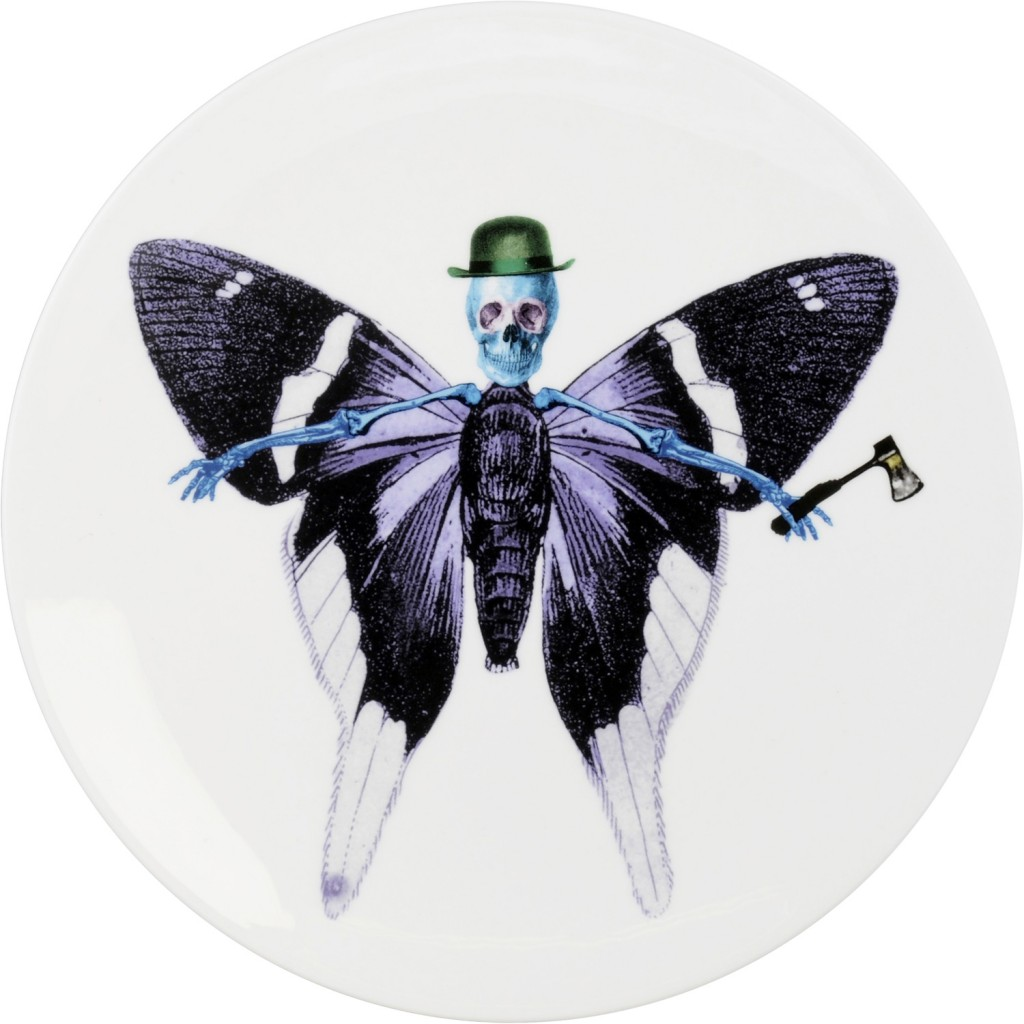 Lepidoptera Vis Plate by The New English