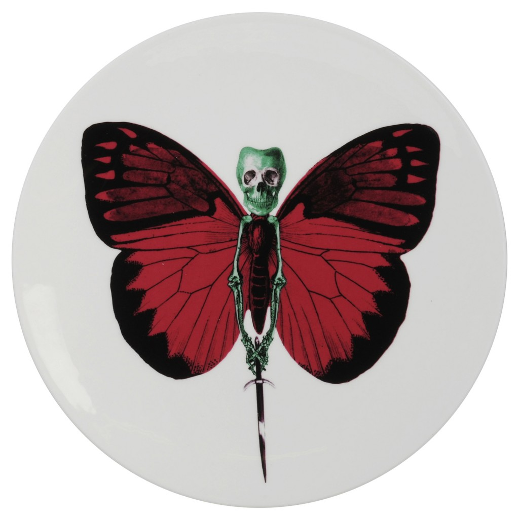 Lepidoptera Vix Plate by The New English
