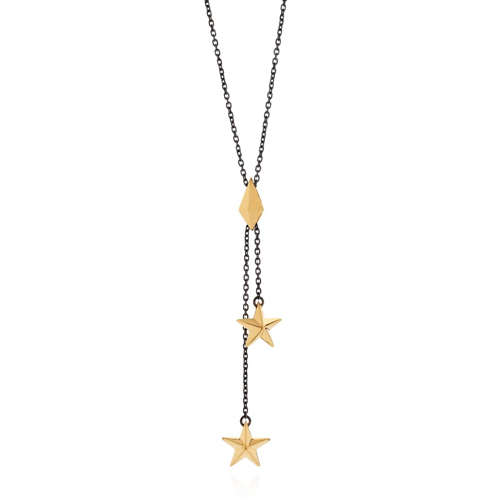 Double Star Pendant by Tomasz Donocik