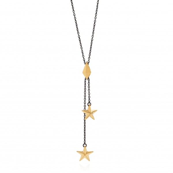 Double Star Pendant by Tomasz Donocik