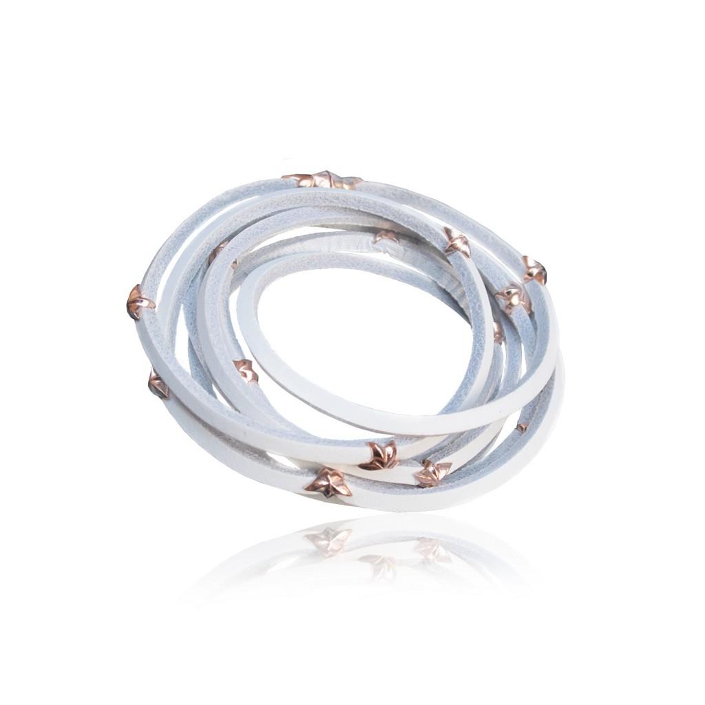 Leather Star Bracelet by Tomasz Donocik