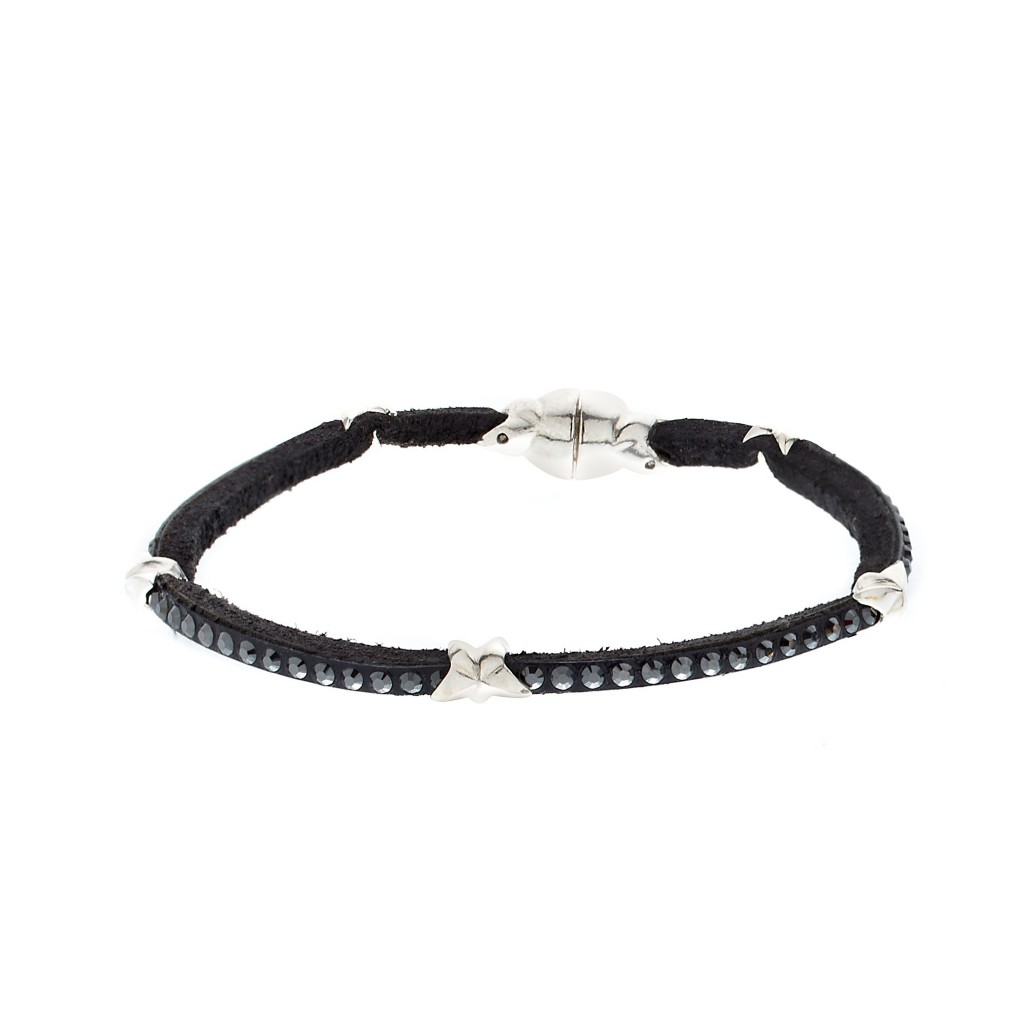 Swarovski Star Single Wrap Bracelet by Tomasz Donocik