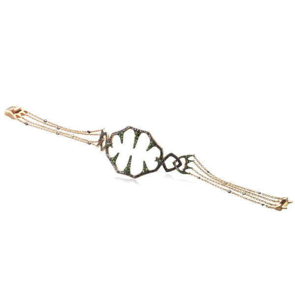 Venus Fly Trap Chain Bracelet