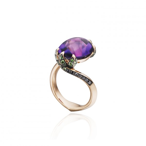 Water Lilly Pad Ring