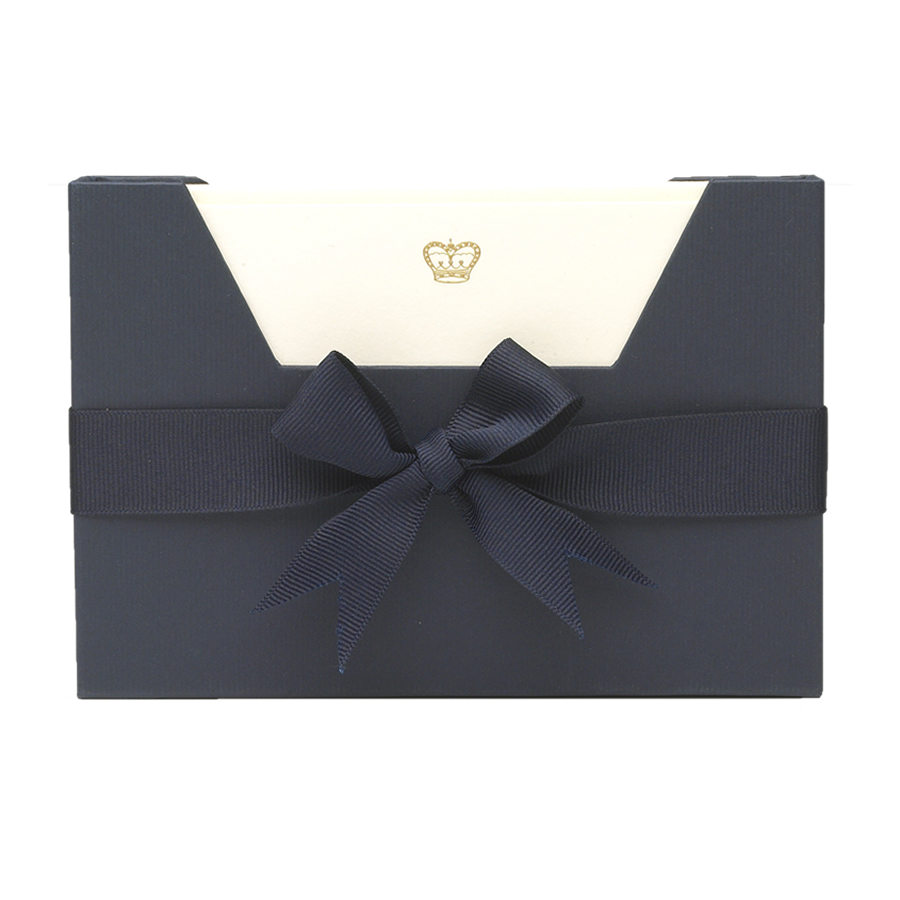 Crown Note Card Wallet by Julie Bell Stationery