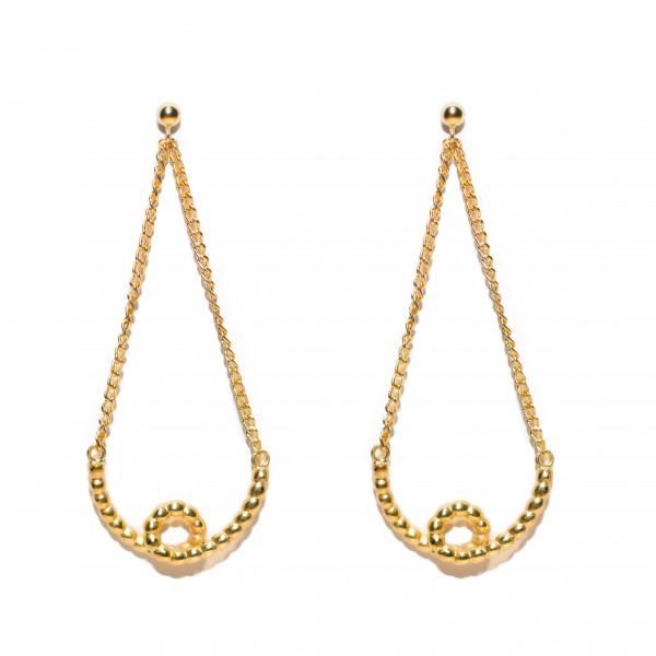 Bow Earrings by Jane Gowans