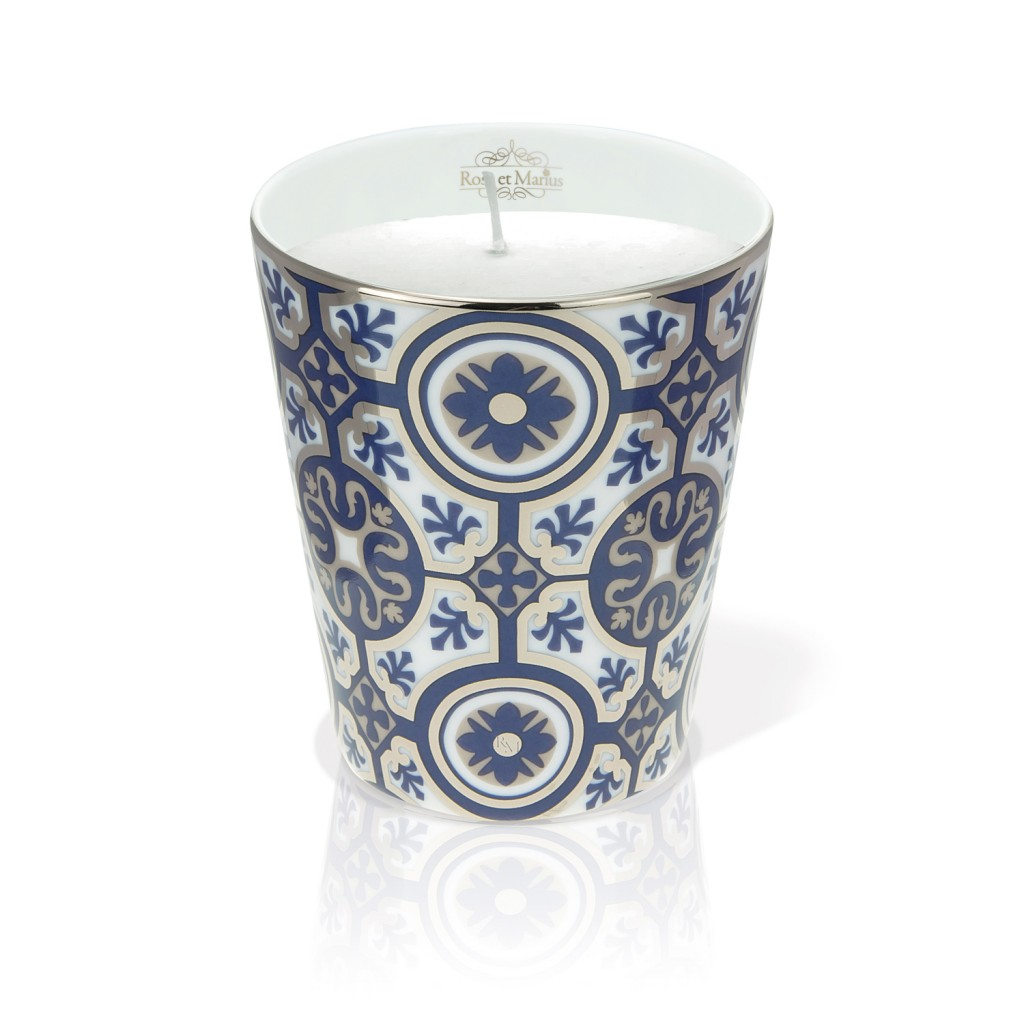 Casteau Blue Scented Candle by Rose et Marius