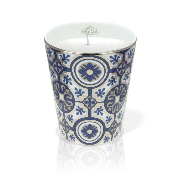 Casteau Blue Scented Candle by Rose et Marius