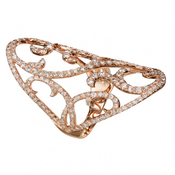 Jaipur – Rose Gold Ring by Dionea Orcini