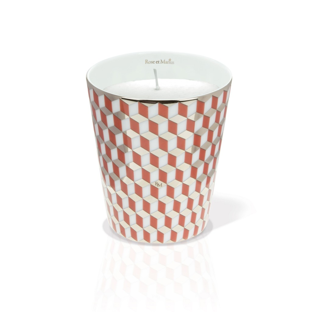 Mini Tometo Red Scented Candle by Rose et Marius