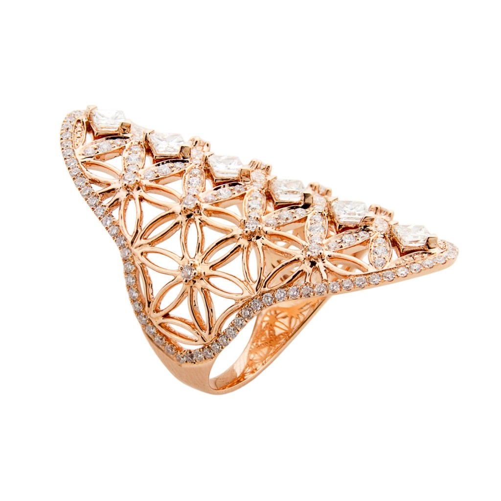 Semiramis – Rose Gold Ring