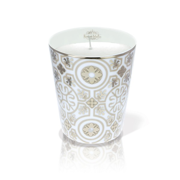 Casteau Beige Platine – scented candle by Rose et Marius