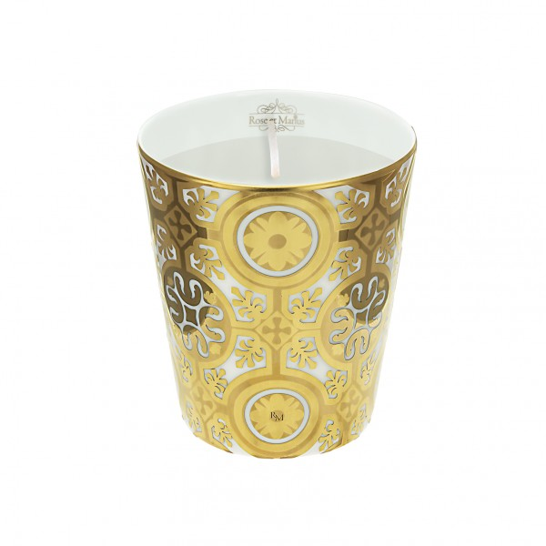 Casteau Gold Scented Candle by Rose et Marius