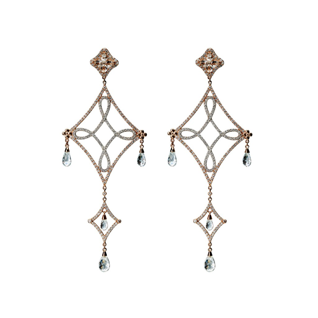 Long Lasya Earrings – with briolettes