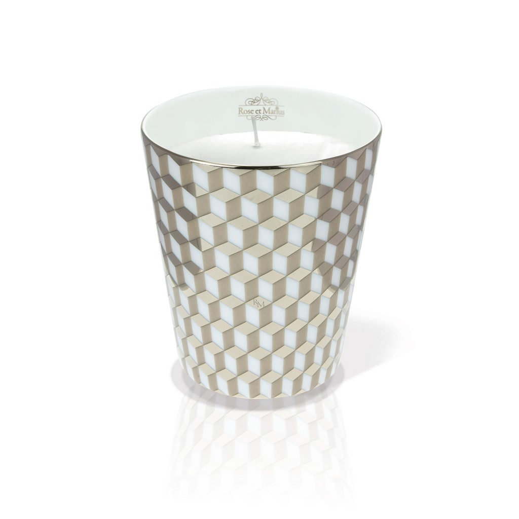 Mini Tometo Beige – scented candle by Rose et Marius