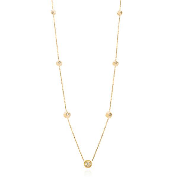 Sautoir 9 Crystals Necklace by Ornella Iannuzzi