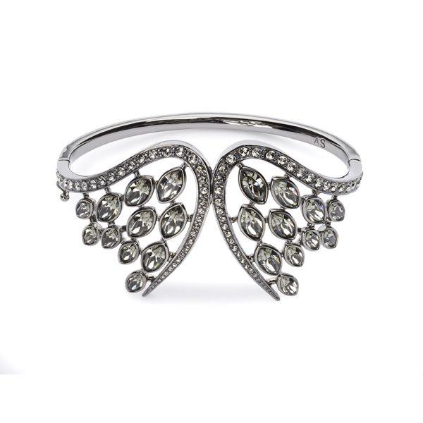 Swift Cuff with Black Diamond Crystal