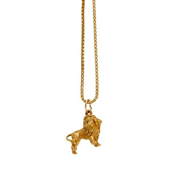 The Lion Necklace – Gold