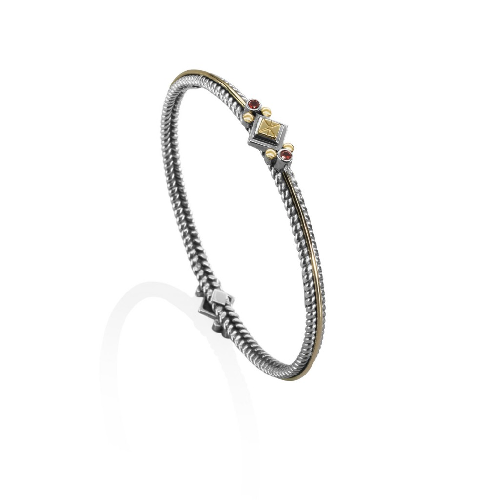 Nubian Stackable Bracelets by Azza Fahmy