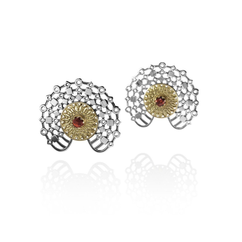 Bassari Earrings by Azza Fahmy