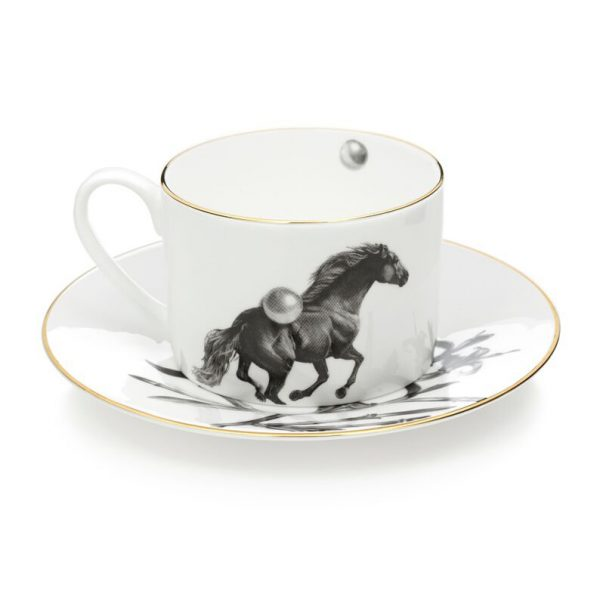 Horse Tea Cup and Saucer