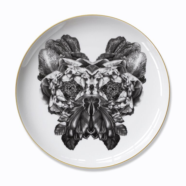 The Bill Mask Plate by Sasha Tugolukova