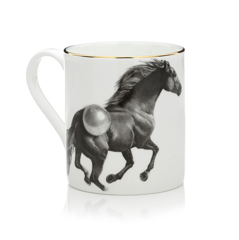 The Horse Mug by Sasha Tugolukova