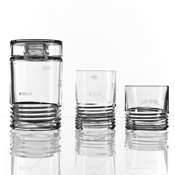 Koncern Design Whisky Decanter by Bomma Crystal