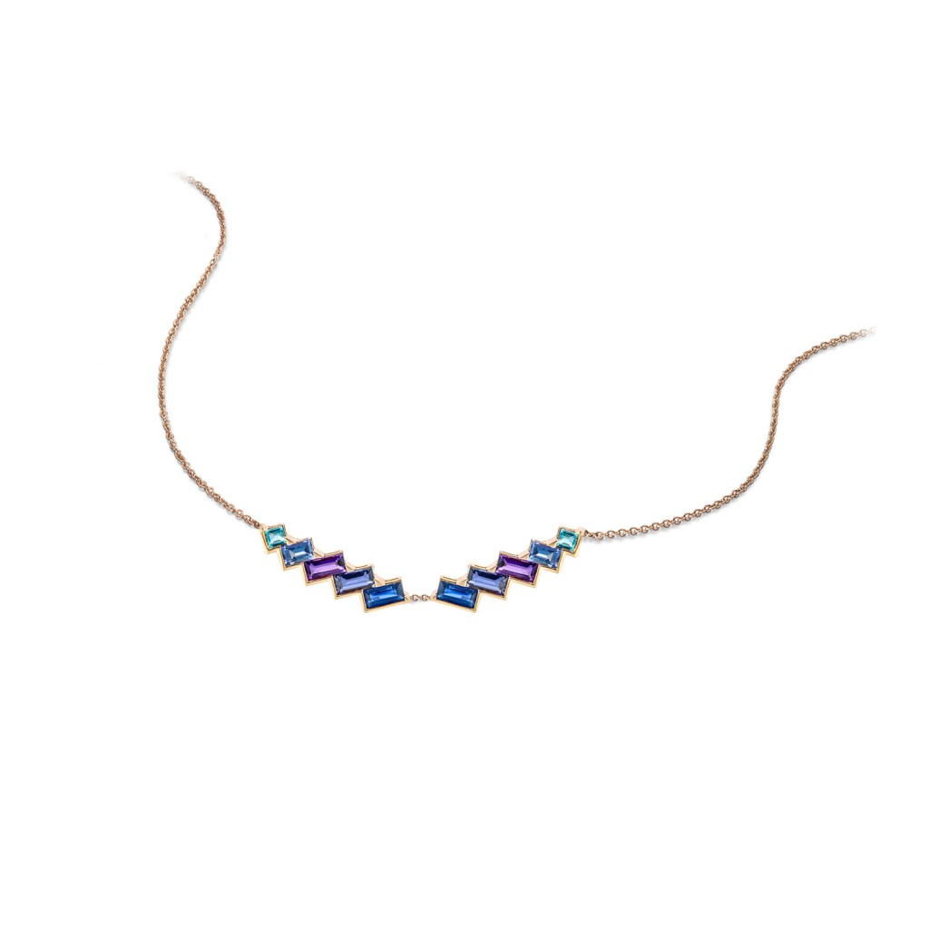 Electric Night – Torc Necklace by Tomasz Donocik