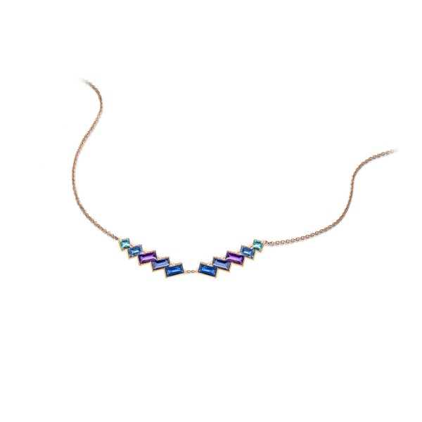 Electric Nights Torc Necklace