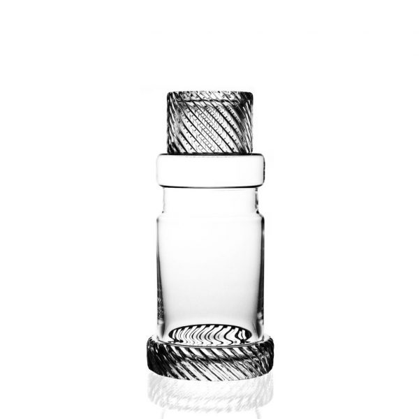 Module Two Cut Crystal Decanter by Bomma Crystal
