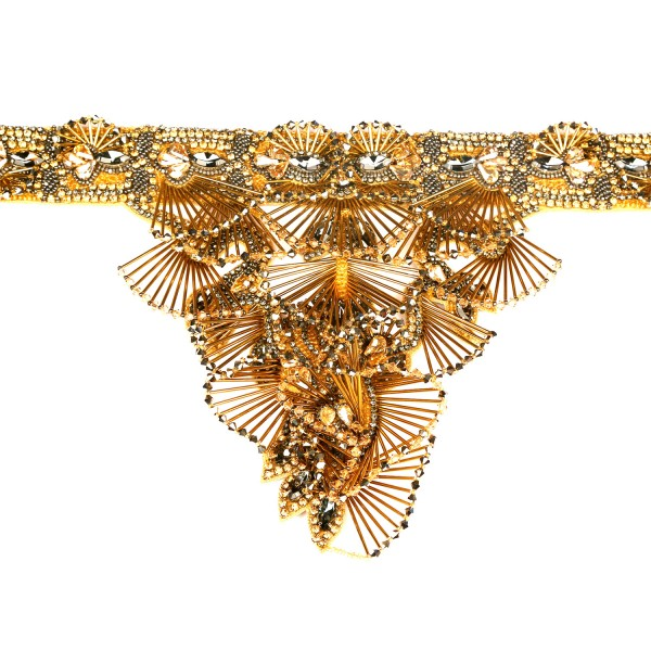 The Pristine Necklace – Antique Gold by Begada