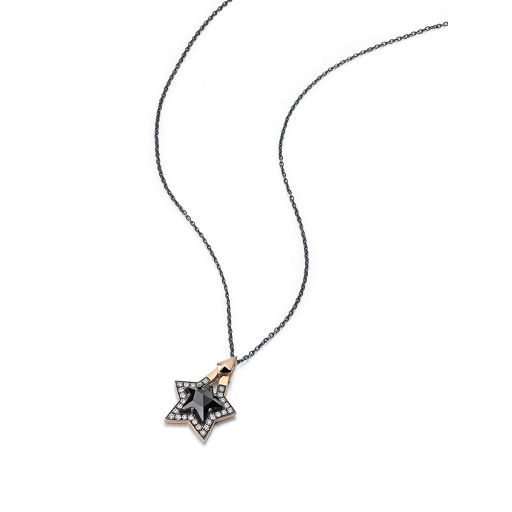 Black Star Pendant by Tomasz Donocik