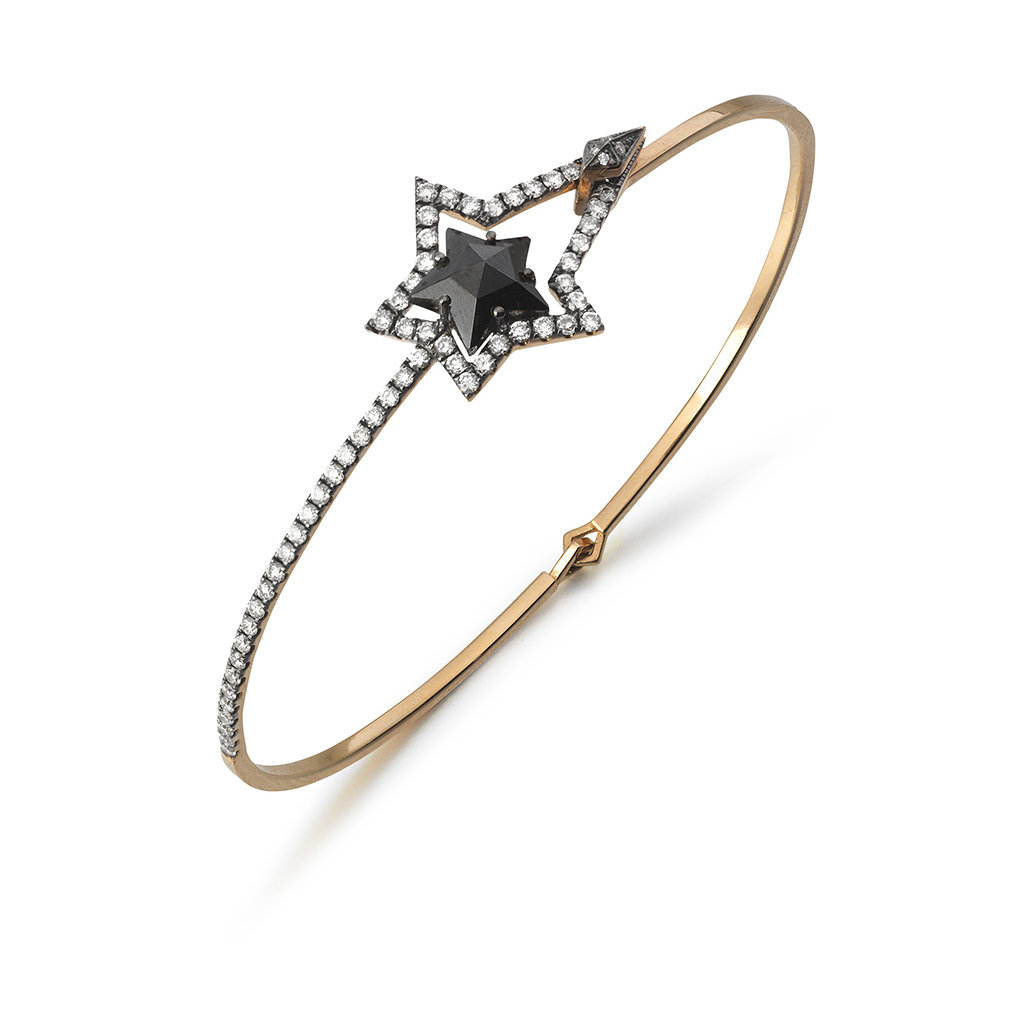 Blackstar Bangle by Tomasz Donocik
