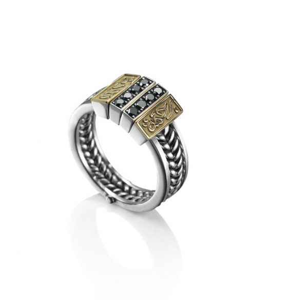 Victorian Band Ring by Azza Fahmy