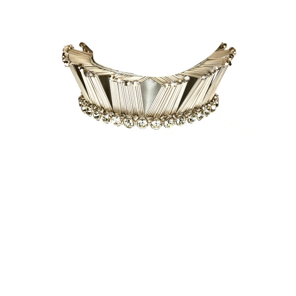 Jewelled Cage Choker by Begada