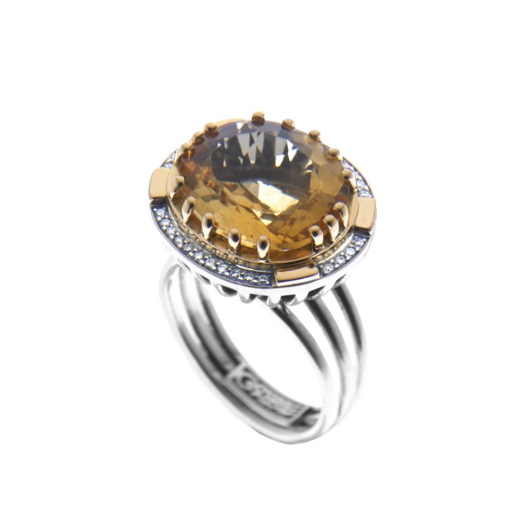 Suma Sultan Ring by Azza Fahmy