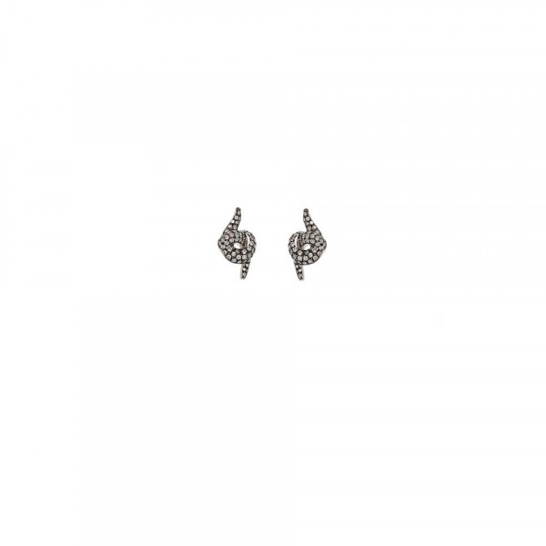 Diamond Stud Earrings by Leyla Abdollahi