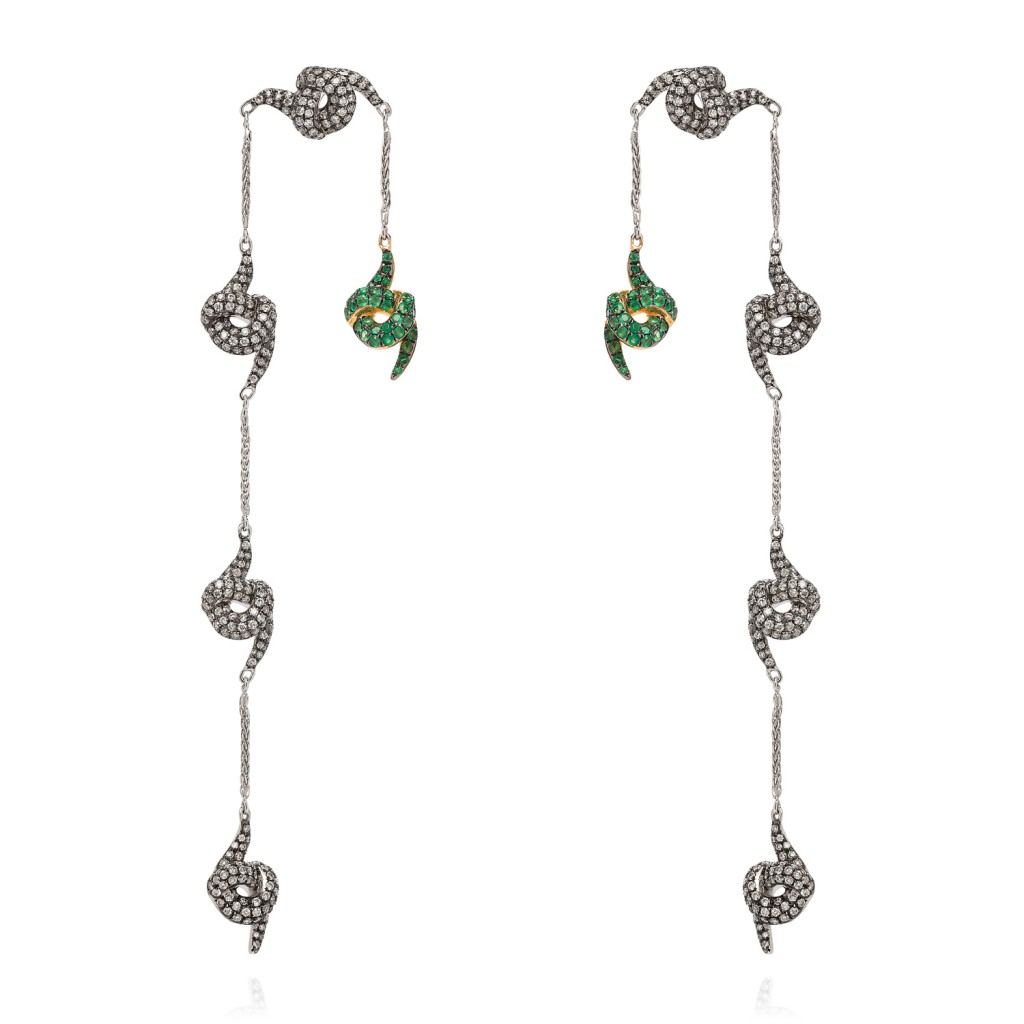 Lust and Lure  Earrings by Leyla Abdollahi