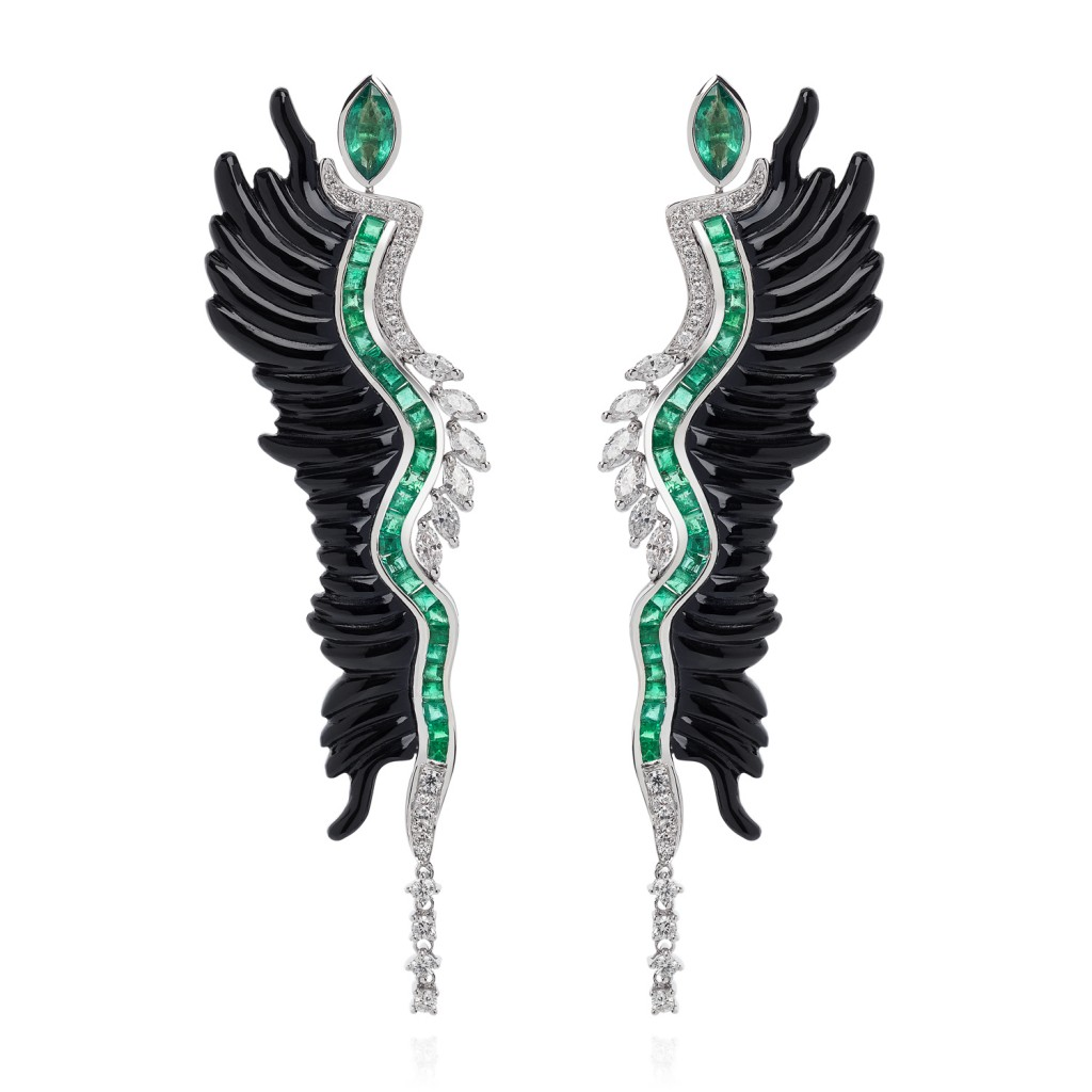 Lust & Lure Earrings by Leyla Abdollahi