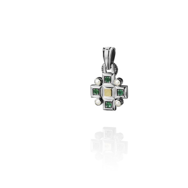 Cross Charm by Azza Fahmy