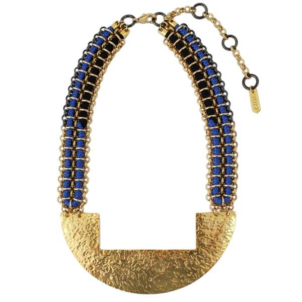 Kuba Necklace – Blue by SOLLIS