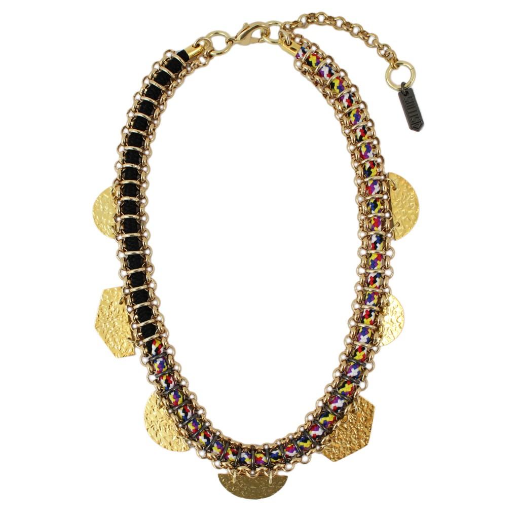 Taka Necklace – Multi by SOLLIS