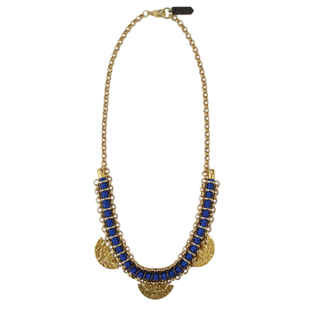 Tomba Necklace – Blue by SOLLIS