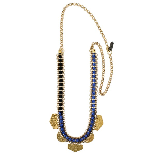 Zuma Necklace – Blue by SOLLIS