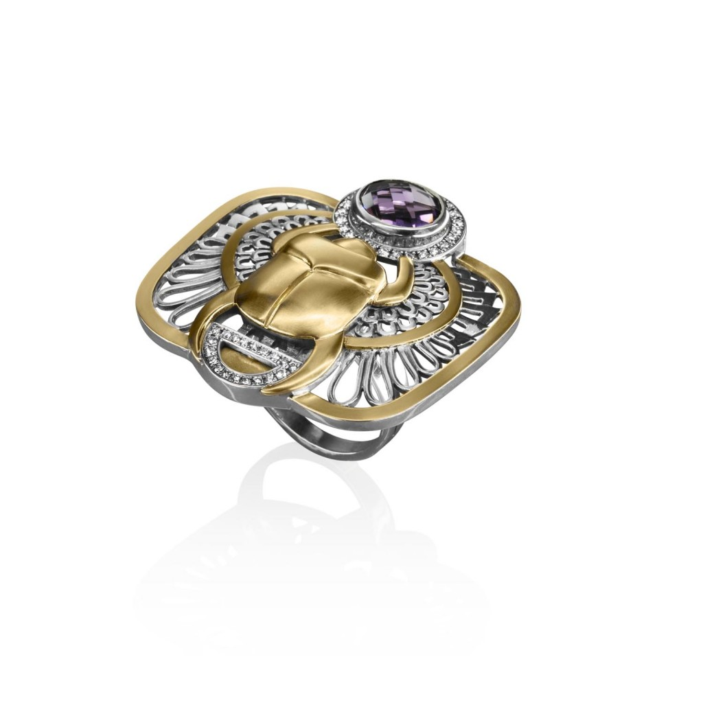 The Scarab Ring by Azza Fahmy