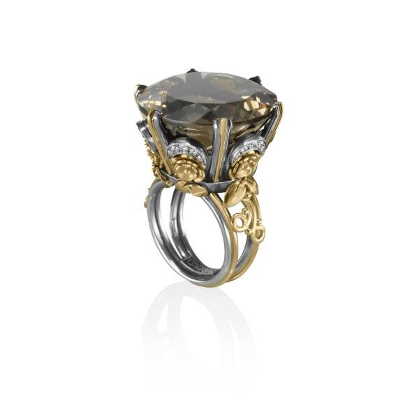 The Victorian Ring by Azza Fahmy